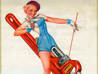 RANDY'S THING: the Rigid Tool girl