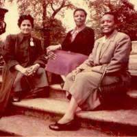 Danai's grandmother: center